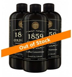Cold Brew Coffee Concentrate 3 Pack
